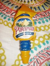 Used Pyramid Hefeweizen Unfiltered Wheat Ale Bar Tap Handle FREE SHIPPING!!!
