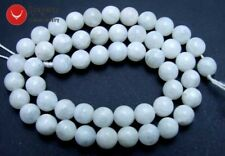 """SALE 8mm Natural High quality Round Moonstone gemstone Beads strand 15""""-los601"""