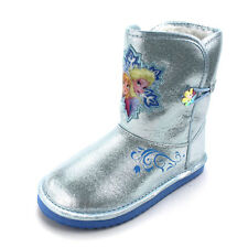 Frozen Kids Faux Fur Lined Winter Boots CH14960 7 8 9 10 11 12