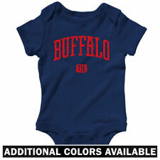 Buffalo 716 One Piece - New York Sabres Bills Baby Infant Creeper Romper NB-24M