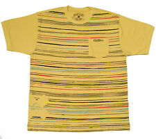 QUIKSILVER T-Shirt MENS Size:M L* YELLOW Genuine Brand NEW Top AUSSIE SELLER