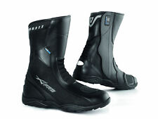 Waterproof Breathable Boots Touring Sports Motorcycle Motorbike Leather