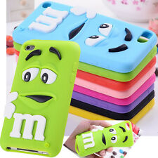 Cute 3D Letter M Soft Case Cover For Apple Ipod Touch 4 5 iphone 4S 5S 6 6S +