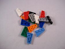 LEGO Wedge Plates 3 x 2 Left/Right Pair, P/N 43722 & 43723 - Choose Your Colour