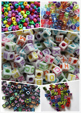 Wholesale 500 Grams Mix Alphabet Letters, Pony Beads Big Holes for Craft Making