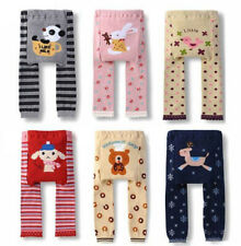 Toddler Baby Boy Girl Kids Warm Leggings PP Pants Cute Pattern Comfort Trousers