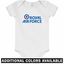 Royal Air Force RAF One Piece - Logo Pilot UK Baby Infant Creeper Romper NB-24M
