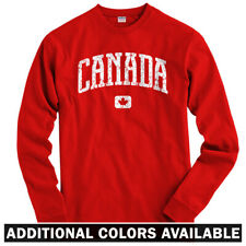 Canada Long Sleeve T-shirt LS - Montreal Toronto Calgary Ottawa - Men / Youth