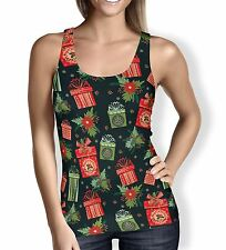 Merry Christmas Gifts Ladies Tank Top - Sizes XS-3XL Activewear