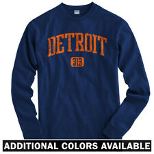 Detroit 313 Long Sleeve T-shirt LS - Tigers Red Wings Lions D-Town - Men / Youth