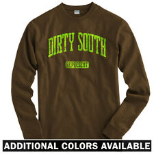 Dirty South Represent Long Sleeve T-shirt LS - Miami Houston Atlanta Men / Youth