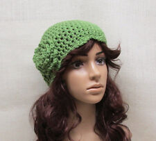 Crochet Neon Girls Hat, Beanie, Tobaggan, Crochet Womens Hat, Custom Made to Ord