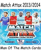 MATCH ATTAX 2013/2014 MAN OF THE MATCH MOTM CARDS TOPPS 13/14 2013/2014