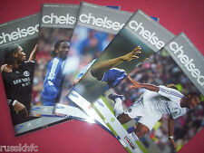 2006/07 CHELSEA HOME PROGRAMMES CHOOSE FROM