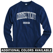 Connecticut Represent Long Sleeve T-shirt LS - Hartford New Haven - Men / Youth
