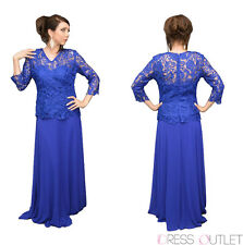 TheDressOutlet Plus Size Dress Mother of the Bride Evening Gown