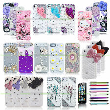FOR iPHONE 5S 5 SE CRYSTAL DIAMOND BLING CUTE CASE RHINESTONE GIRLY COVER