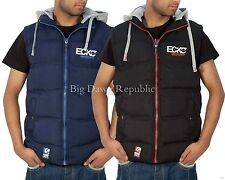 Ecko Mens Boys Gilet Full Zip Up Hooded Bodywarmer Sleeveless Jacket Hip Hop