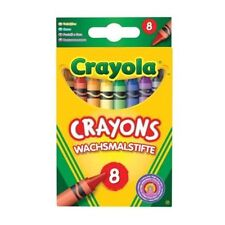 Crayola Crayons Colouring Assorted Wax Beginnings 8 OR 24 Pack- Fast Delivery