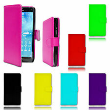 Magnet Wallet Flip Book Holder Leather Pu Case Cover For Samsung Galaxy S5 Mini