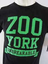 ZOO YORK Mens Premium T-shirt Top Tee Regular Size S M L XL XXL black/green fox