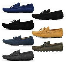 Fashion Mens casual Moccasin Loafer slip on comfort suede boats Driving Shoes