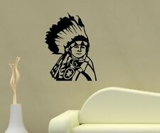 Wall Decal Indian Child Boy Western India Stickers Wall Stickers 5A028