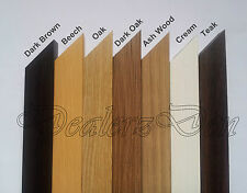 WOOD WOODEN PICTURE POSTER PHOTO FRAMES 6 VARIOUS COLOURS SIZES Stand Wall Hang