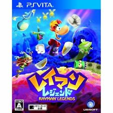 Used PS Vita Rayman Legends Japan Import