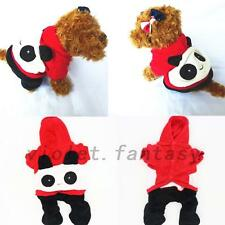 Chinese Red Panda Happy Dog Clothes Pet Clothes Dog Tactic Autumn Winter Clothes