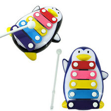 Baby Child Kid 5-Note Xylophone Musical Toys Wisdom Development Penguin Baby Toy