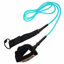 Palantic Surfing Blue Leash with Neoprene Ankle Cuff and Swivel Joints