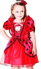 Hello Kitty Pretty Red Ladybird Tutu Dress Fancy Dress Costume Play Headband