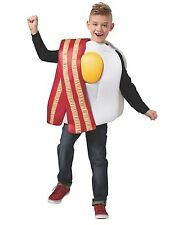 NWT CHILD BREAKFAST OF CHAMPIONS BACON AND EGGS HALLOWEEN COSTUME - FUNNY FOOD