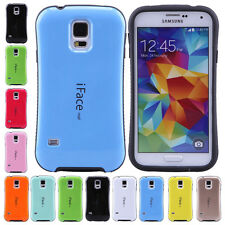 iFace Design TPU Gel Hybrid Hard Phone Case Cover For Samsung Galaxy S5 SV i9600