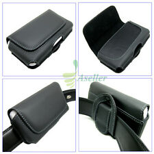 Compact Flip Horizontal Leather Belt Clip Loop Holster Case Pouch Cover SKin 4.7