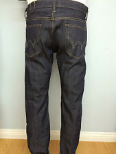 EDWIN slim RAW denim JAPANESE jeans new mens tapered unwashed RIGID zipper