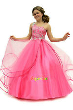 Formal Children Baby Princess Bridesmaid Flower Girl Dresses Wedding Party kid-G