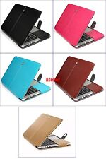 "For Macbook 12"" Retina A1534  Flip Sleeve Leather Case Carry Bag Pouch Cover"