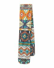 Hipster Aztec Tribal Geometric Fleece Scarf - Two Sizes - Warm for Winter