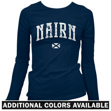 Nairn Scotland Women's Long Sleeve T-shirt LS - Scottish UK Rugby Inverness S-2X