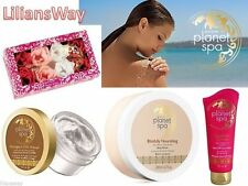 Avon Planet Spa~Nourishing/Firming/Indulgent/Botanical/Hydration~Spa Ritual