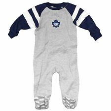 Toronto Maple Leafs Baby Raglan Sleeper