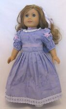 """Doll Clothes Fit AG 18"""" Dress Lavender Samantha Made For American Girl Dolls"""