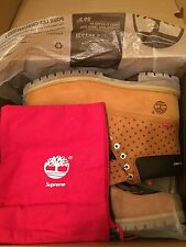"Supreme x COMME des GARCONS SHIRT x Timberland 6-inch Boot ""Wheat"""