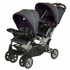 Double Stroller Infant Car Seat Travel System Sit Stand Baby Jogger City Twins