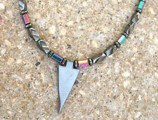 Arrow Pendant Magnetic RAINBOW Necklace Mens Womens Healing Free Shipping Clasp