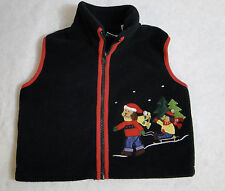 Christmas Holiday Winter Dog Vest -  Perfectly Dressed Size 12 Months