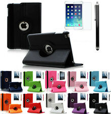 360 Degrees Rotating Stand Leather Case for Apple iPad Air 2 Generation