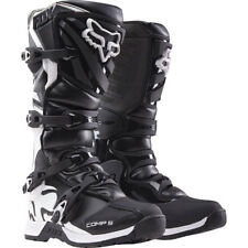 Fox Racing Youth Comp 5 Black Motocross Boots Enduro Quad Pitbike ATV Moto